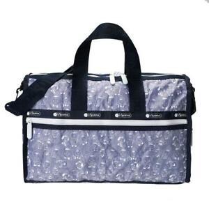 LeSportsac BTS Collection Medium Weekender Duffel Bag in BT21 Denim NWT