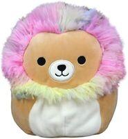 "Squishmallow 8"" Leonard The Rainbow  Stuffed Animal, Super Pillow Soft Plush Toy"