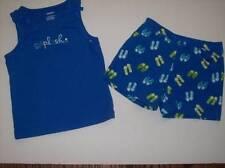 New Gymboree Girl Sea Splash Top & Flip Flop Shorts Set  4 4T NWOT