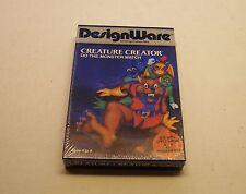 Creature Creator by DesignWare for Apple II Plus, Apple IIe, IIC, IIGS - NEW
