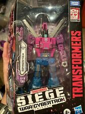 HASBRO Transformers SIEGE WAR FOR CYBERTRON DELUXE CLASS [SPINISTER] Last One!