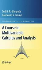 A Course in Multivariate Calculus and Analysis HC 2009