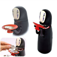 Kaonashi Face Coin Bank-Spirited Away No Face Man Automatic Eaten Coin Money Box