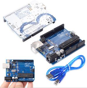 Uno R3 MEGA328P ATMEGA16U2 Board compatible Arduino AR01001 H31 USB + USB Kabel