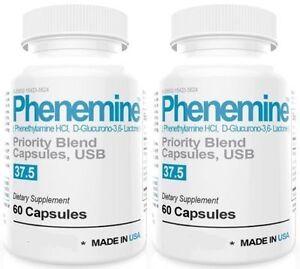 2CT Phenemine Lose Weight Loss Quick Fast Best Diet Pills That Work Fat Burner