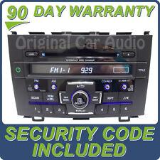 HONDA CRV CR-V Radio Stereo MP3 AUX 6 Disc CD Changer 1PN4 XM OEM Receiver AM FM