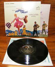 The Sound of Music Julie Andrews (LSOD-2005) Original Soundtrack Record Album!