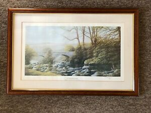 """Limited Edition vintage print by David J Lawrence """"Summer Reaches""""  Dartmore"""