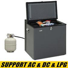 Deep Chest Freezer Food Storage Lpg Gas Fridge Propane Refrigerator 2.5 Cu Ft Us