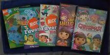 Nickelodeon Blues Clues Dora Wonder Pets Little Bill & More DVD Lot ~