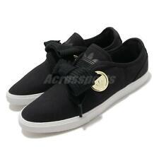 Adidas Originals гладкий Lo W низкий черный бант золотой металлической женская повседневная обувь FV0741