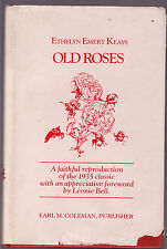 OLD ROSES - ETHELYN EMERY KEAYS  facsimile from 1935     es