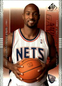 2003-04 SP Game Used New Jersey Nets Basketball Card #54 Alonzo Mourning