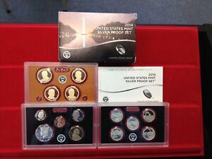 2014-S SILVER 14 Coin Proof Set ORIGINAL!!!