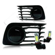 2006-2009 Toyota Prius Fog Lights w/Wiring Kit & COB LED Bulbs - Super Smoke