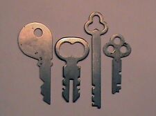 Antique National Cash Register Keys -1,  2/3, 5, 6  for 400 & 500 NCR