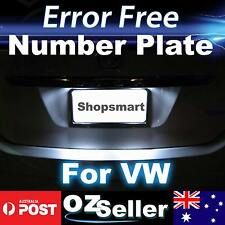 2x Canbus License Number Plate LED Light Error Free For Volkswagen Golf 6 GTI OZ