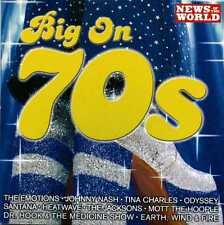 BIG ON 70'S  - NEWS OF THE WORLD PROMO CD