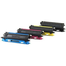 4Pk Brother TN-115 RE-MANUFACTURED TONER CRT BCYM for DCP-9040CN;MFC-9440CN