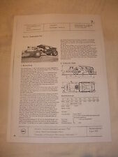 Treu Ddr Werbung Reklame Prospekt Datenblatt Bagger Raupenbagger K 408 Polen 1977 Literatur Reklame