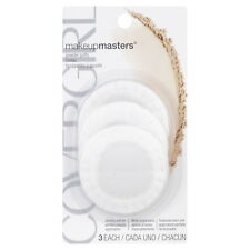 CoverGirl Makeup Masters Powder Puffs, Pack of Three / 3 ct
