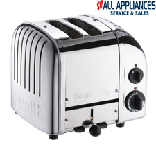 DUALIT TOASTER 2 SLICE POLISHED CLASSIC WITH 5 YEAR WARRANTY GENUINE  HEIDELBERG