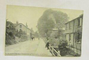 Sundridge River Darenth & Village, From East. Photochrom. Old Postcard