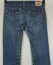 Women's True Religion Becky Jeans Size 29 (30 x 32.75) Good Cond! Intl Ok
