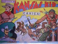 KANSAS KID - Collana Sparviero n°43 1950 ristampa [G318]