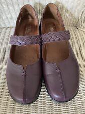 Ladies Hotter Shake Comfort Concept Mary Jane Shoes Size 8 UK EXF Fitting Mauve