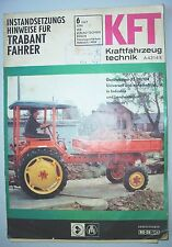DDR Zeitschrift KFZ Kraftfahrzeugtechnik 6 / 1967 Geräteträger RS09 / 124 !