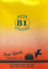 New - Super 81 Utilities 128 by Free Spirit Software for Commodore 128 & 1581