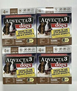 4 Advecta 3 for X-Large Dogs Over 55 lbs.16 Month Supply, Same as K9 Advantix II