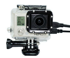 Skeleton Protective Housing Case Side Open With lens for Gopro Go pro HD Hero 3