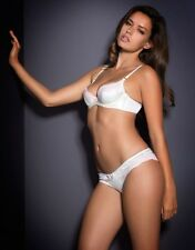 Agent Provocateur MOLLY BRA 32DD & BRIEF AP Size 3 in IVORY SILK & LACE - BNWT
