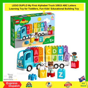 LEGO DUPLO My First Alphabet Truck 10915 ABC Letters Learning Toy for Toddlers