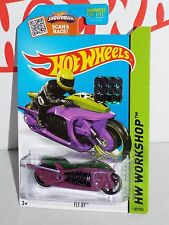 Hot Wheels Factory Set 2015 Thrill Racers Series #187 Fly-By Purple