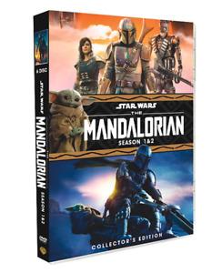 The Mandalorian Season 1 & 2 DVD Box Set Episodes 16 English Audio and Subtitles