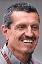 Gunther Steiner SIGNED 12x8  F1 Haas-Ferrari Team Racing Director Portrait