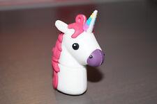 USB-Stick - Einhorn Weiss mit regenbogen Horn 16 GB / Neu