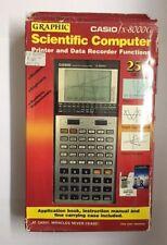 NOS Very nice RARE Vintage 1986 CASIO FX-8000G scientific graphic LCD calculator