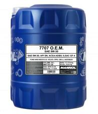 Mannol 7707 Fully Synthetic Engine Oil 5w30 20L FORD VOLVO A5/B5 SN/CF