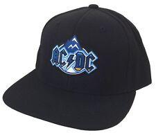 AC/DC Denver CO Peaks Event Concert Black Baseball Hat Cap New Official Merch