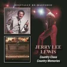 Jerry Lee Lewis - Country Class / Country Memories CD NEW