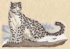 Embroidered Sweatshirt - Snow Leopard M2110