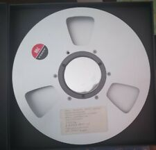 "Ampex 766 10.5"" 1"" Wide Magnetic Data Tape Empty Reel"