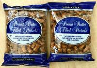 Trader Joe's Peanut Butter Filled Pretzels, 1 lb each (Pack of 2) FRESH!