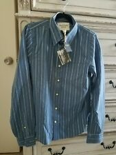 Abercrombie & Fitch Men's Long Sleeve Button Down Shirt- Large