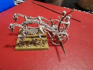 Undead Chariot Skeleton Steeds Oop Warhammer Fantasy Oldhammer Tomb Kings Khemri