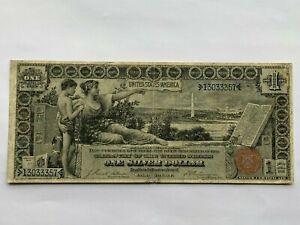 1896 $1 SILVER CERTIFICATE - EDUCATIONAL NOTE - Fr. 224   Very Fine